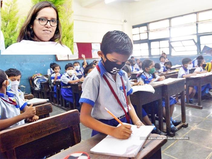 Varsha Gaikwad and school