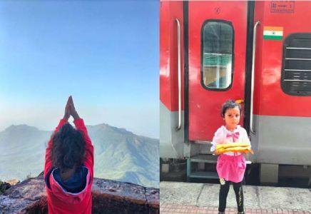 अलिबागच्या चार वर्षीय शर्वीका जितेन म्हात्रेचा आणखी एक पराक्रम
