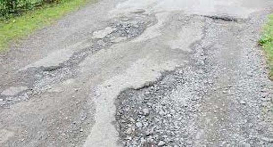 मांडला-काकळघर रस्त्याच्या दूरवस्थेकडे दुर्लक्ष