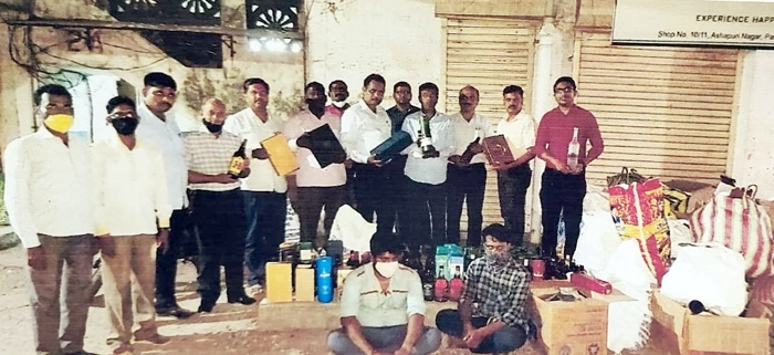 excise department seized