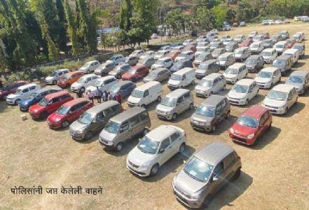 पनवेल : विक्री बंदी असलेली वाहने विकणारी टोळी गजाआड